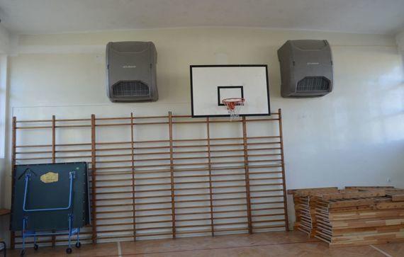 Wyposażenie hali sportowej