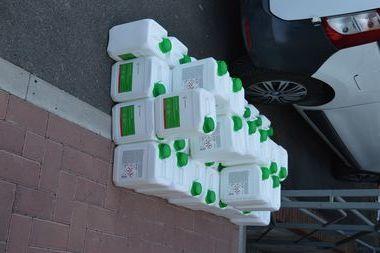 Nowa dostawa środków dezynfekujących