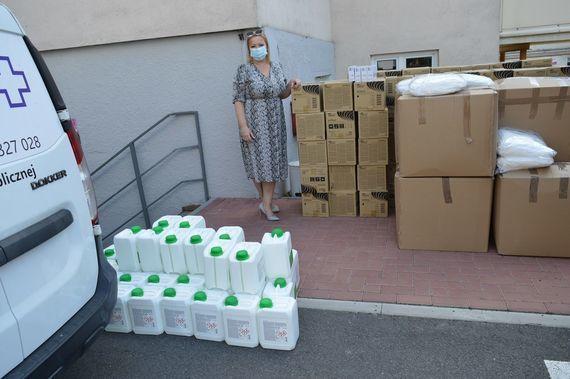 Nowa dostawa środków dezynfekujących oraz środków ochrony osobistej - 1 osoba