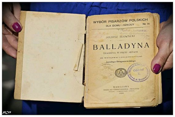 Zdjęcie książki Balladyna stare wydanie