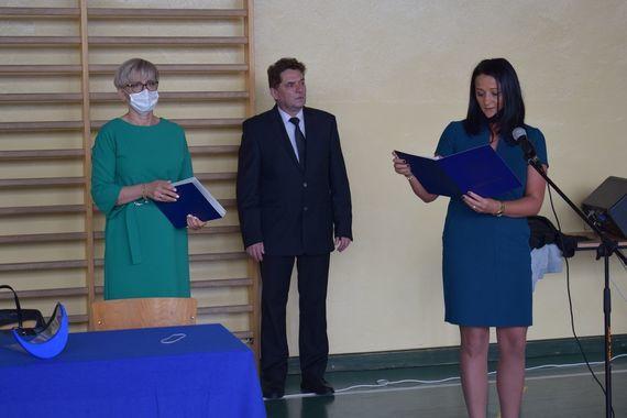 Rozpoczęcie Roku w Zespole Szkół Zawodowych zdjęcie przemówienia
