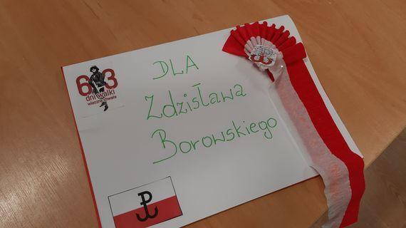 Zdjęcie pracy z napisem Dla Zdzisława Borawskiego