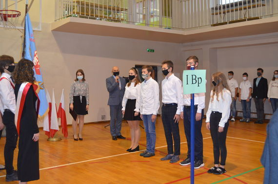 Zdjęcie grupowe ze ślubowania