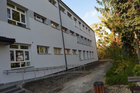 Zdjęcie budynku z zewnatrz