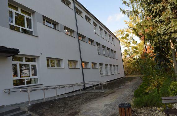 Budynek na zewnątrz
