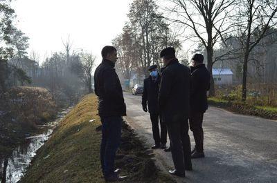 Rozpoczęły się prace związane z modernizacją drogi powiatowej 1402L Brześce – Prażmów.