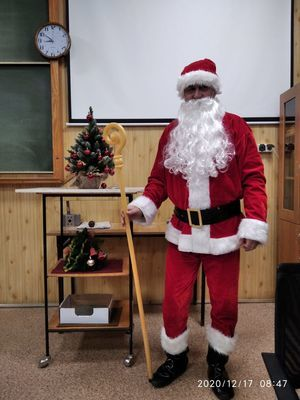nauczyciel Mikołaj