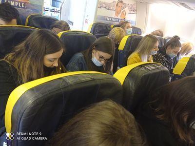 Zdjęcie z samolotu