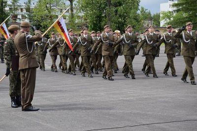 22. Dębliński Batalion Lekkiej Piechoty nosi imię Majora Mariana Bernaciaka