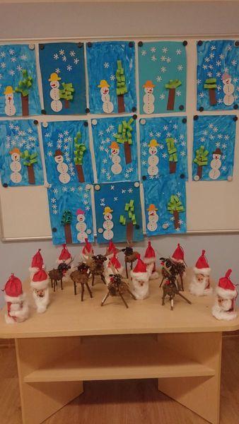 Prace świąteczne Mikołaje