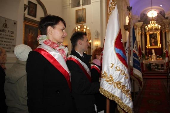 Obchody Święta Niepodległości w Puławach - fotorelacja