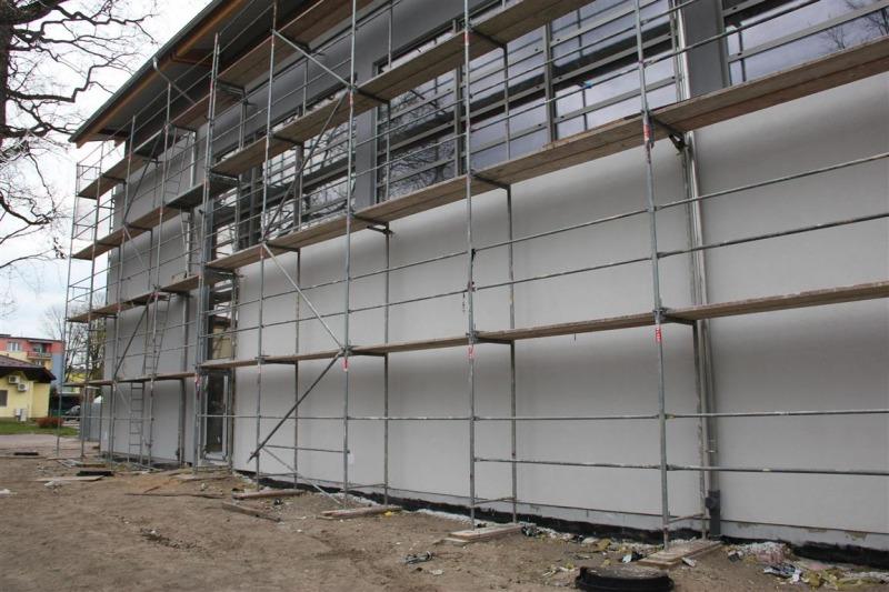 Co nowego na budowie hali sportowej?