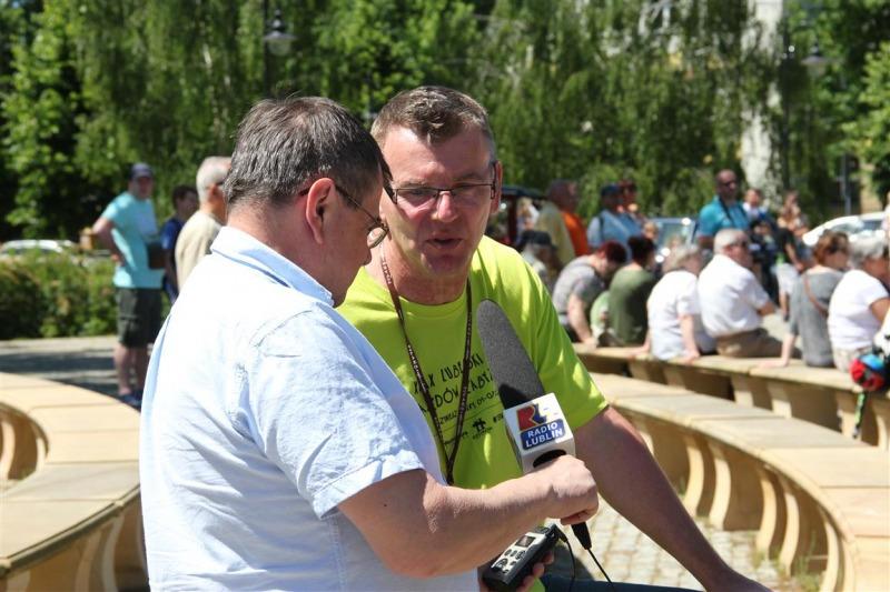 XXIX Lubelski Rajd Pojazdów Zabytkowych foto. J.Żurkowska