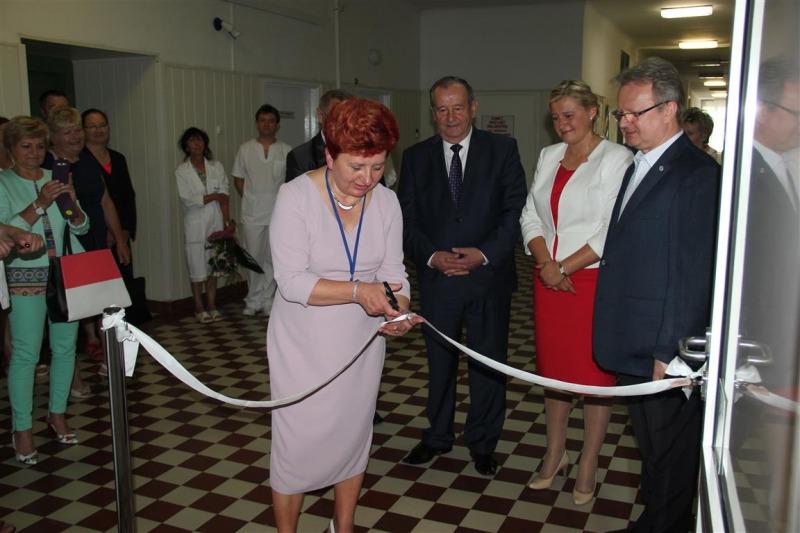 Przebudowany Trakt Porodowy w Oddziale Położniczo-Ginekologicznym SP ZOZ w Puławach już służy pacjen