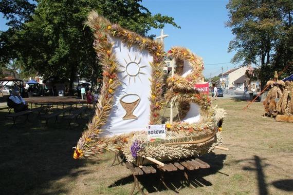 Msza św. i uroczystości dożynkowe - foto I. Ochal.