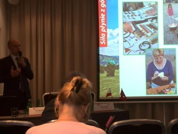 Konferencja dot. projektów rozwoju regionalnego realizowanych w ramach Szwajcarsko-Polskiego Program