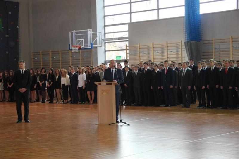 Hala sportowa przy Zespole Szkół Technicznych w Puławach otwarta! foto. P.Górecka