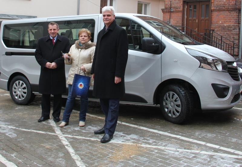 Nowy Samochód dla Środowiskowego Domu Samopomocy w Górze Puławskiej