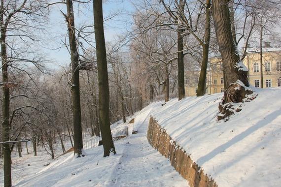 Zima w Powiecie Puławskim - Puławy