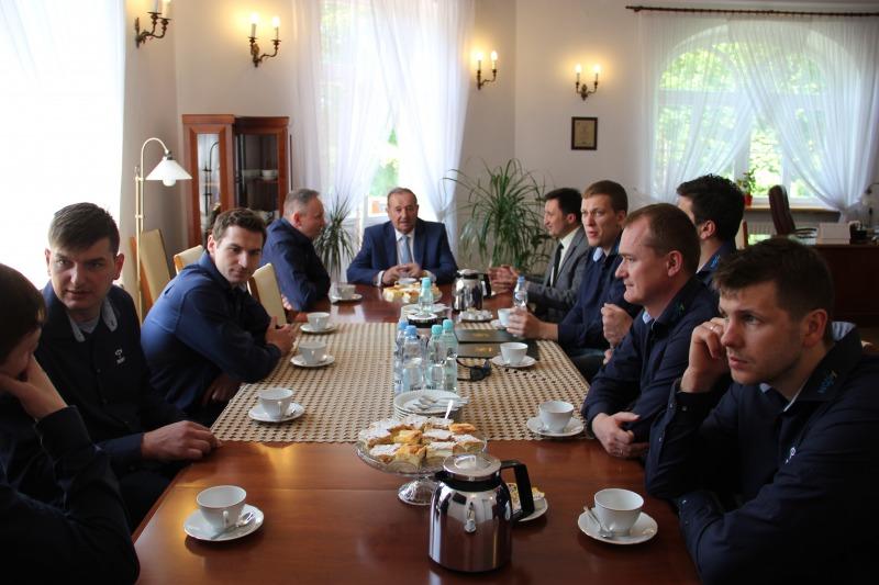 Zawodnicy i trenerzy KS Azoty - Puławy