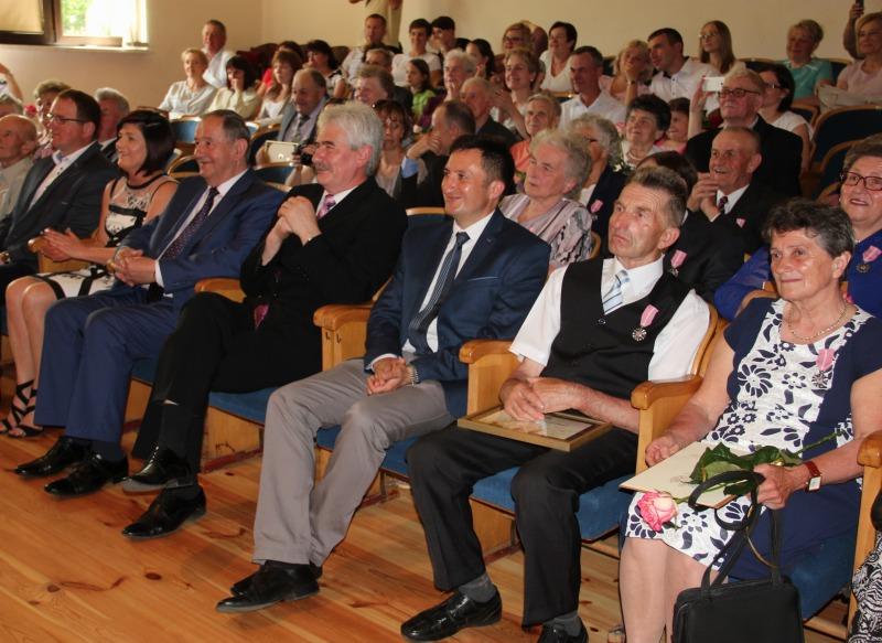 Jubileusz 50-lecia pożycia małżeńskiego Końskowola 2016
