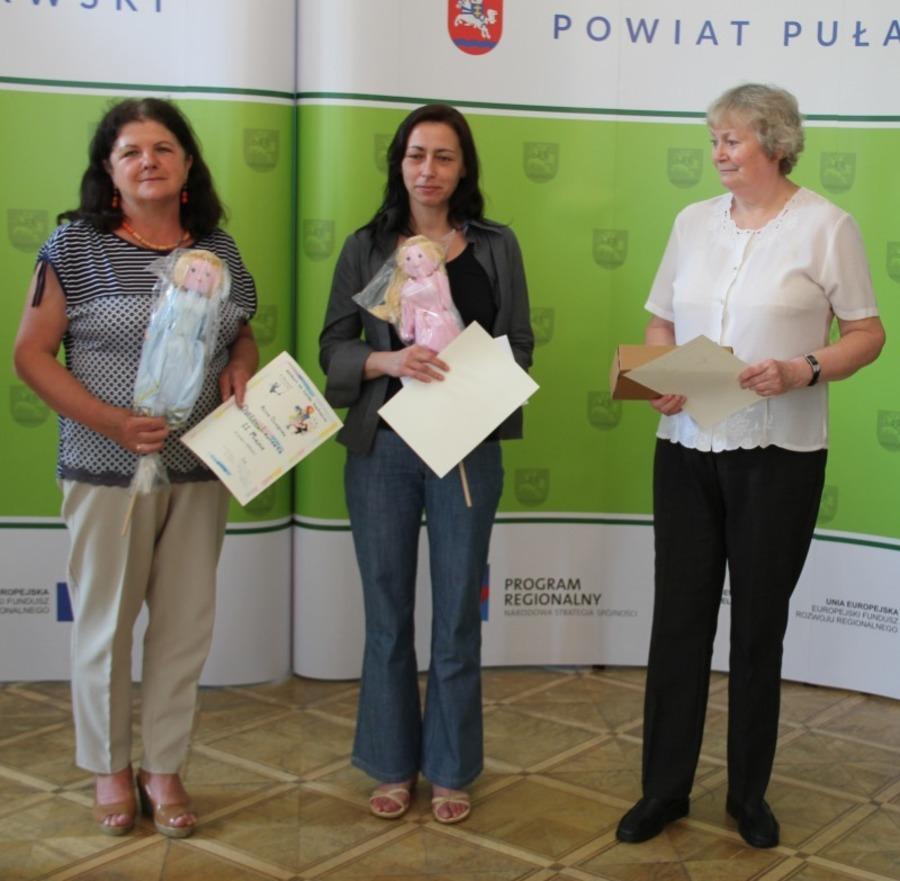 Wręczenie nagród w 48. Ogólnopolskich Puławskich Spotkaniach Lalkarzy