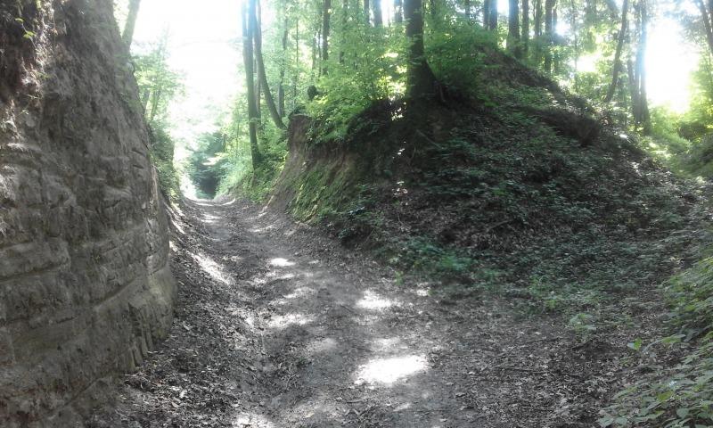 Trasa turystyczna Puławy - Zbędowice - Parchatka - Bochotnica