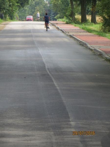 Odbiór techniczny drogi nr 2500 L BARANÓW – DROGA KRAJOWA nr 17