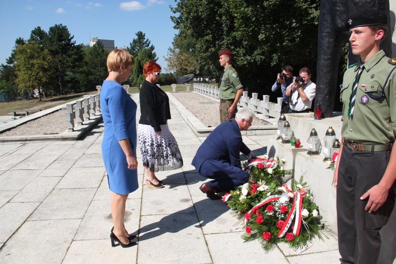 Obchody 77 rocznicy wybuchu II Wojny Światowej