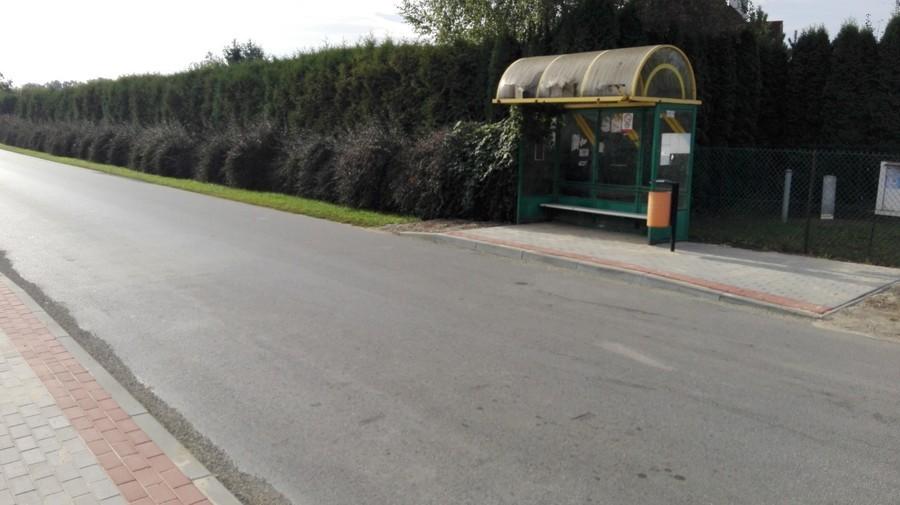 Budowa chodnika przy ul. Puławskiej w ciągu drogi powiatowej Nr 2503 L w m. Gołąb na odc. 1075 m