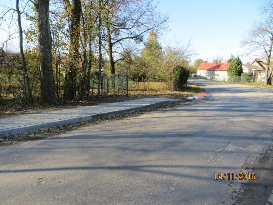 Budowa chodnika w ciągu drogi powiatowej nr 2534L w miejscowości Klementowice