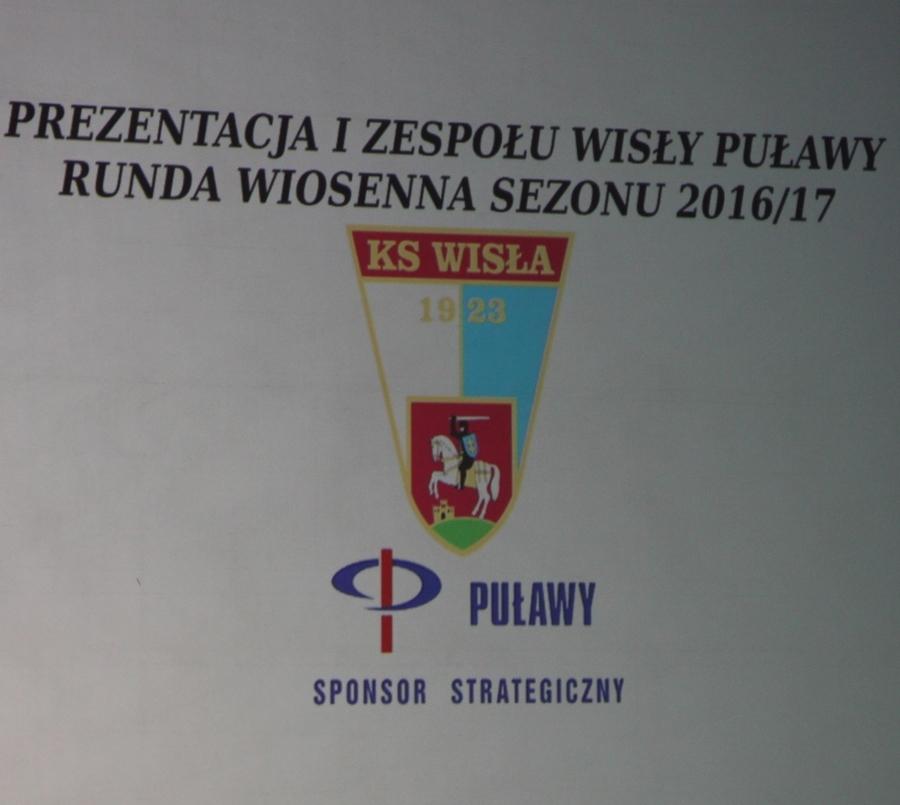 Prezentacja I Zespołu Wisły Puławy Runda Wiosenna Sezonu 2016/2017