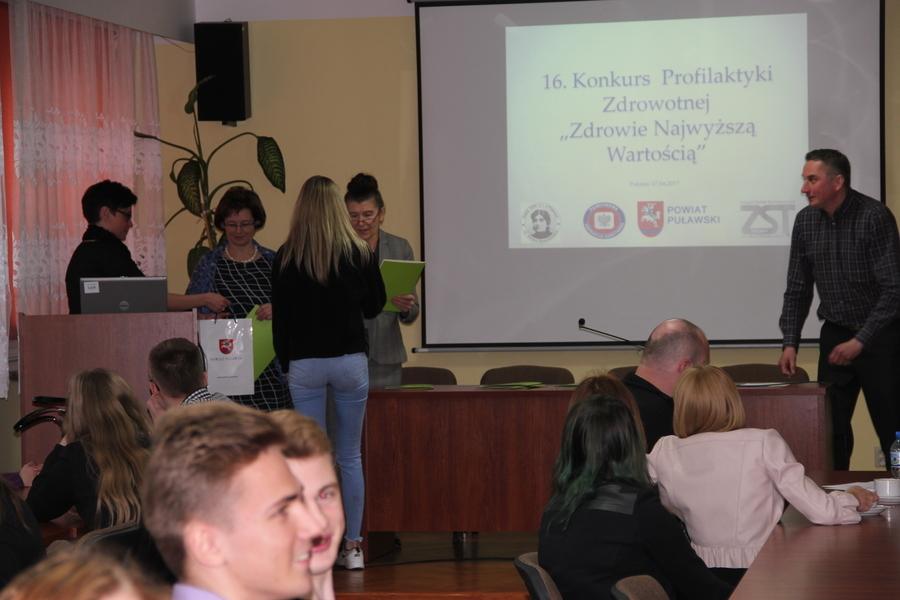 Podsumowanie XVI edycji Międzyszkolnego Konkursu Profilaktyki Zdrowotnej pod hasłem