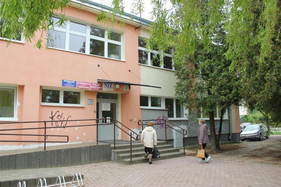 Przegląd wyremontowanych przychodni rejonowych SP ZOZ w Puławach