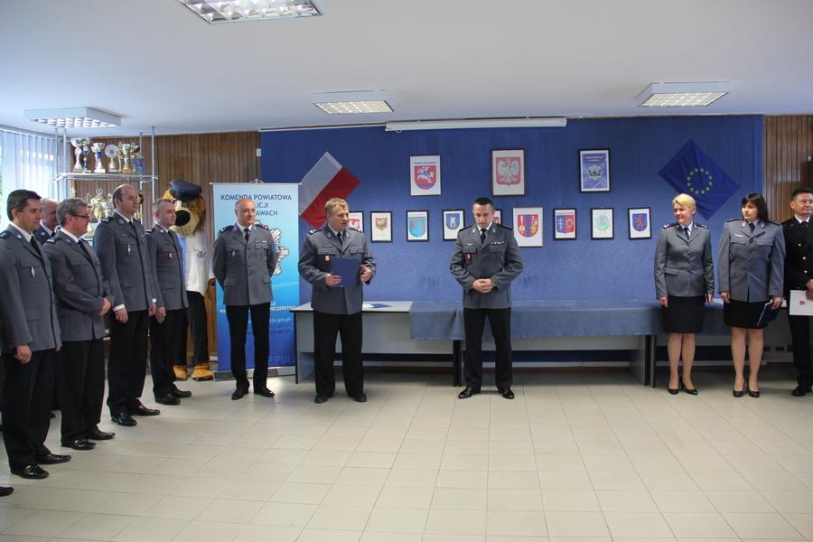 Podinspektor Sylwester Śliwka nowym Komendantem Policji w Puławach