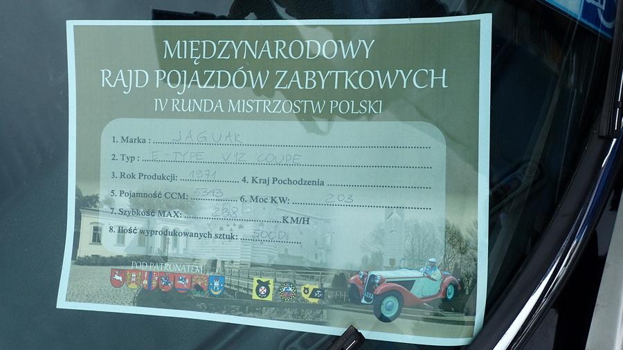 IV Runda Mistrzostw Polski Pojazdów Zabytkowych