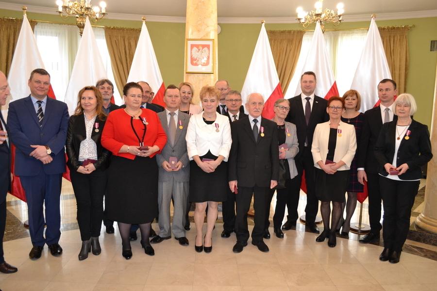 Medale za Długoletnią Służbę dla pracowników Starostwa Powiatowego w Puławach
