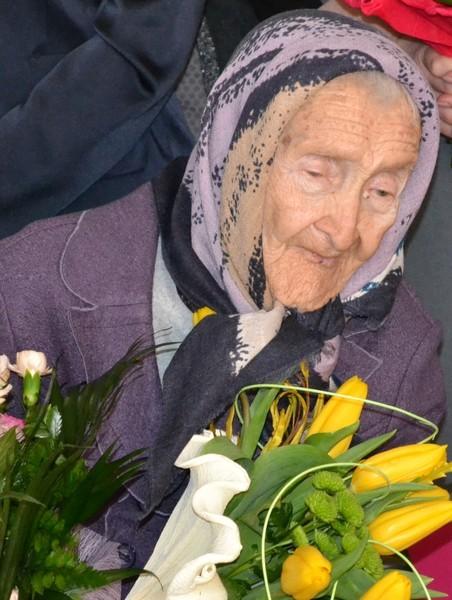 Janina Kozak - 100-letnia mieszkanka Końskowoli