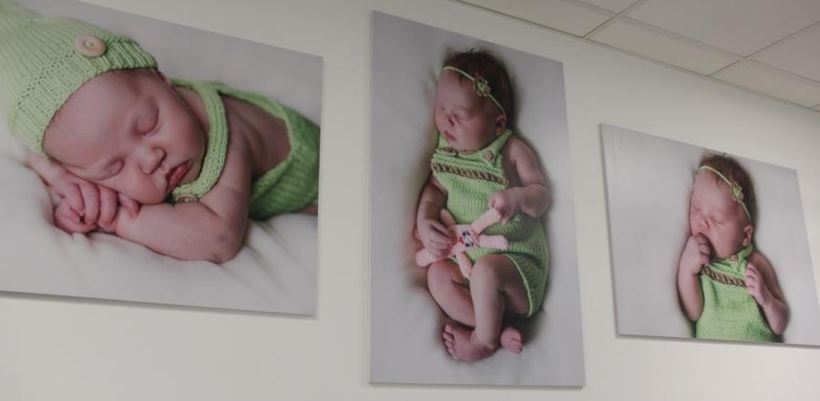<p>Dzieci, obrazy, oddział ginekologiczno-położniczy, remont</p>