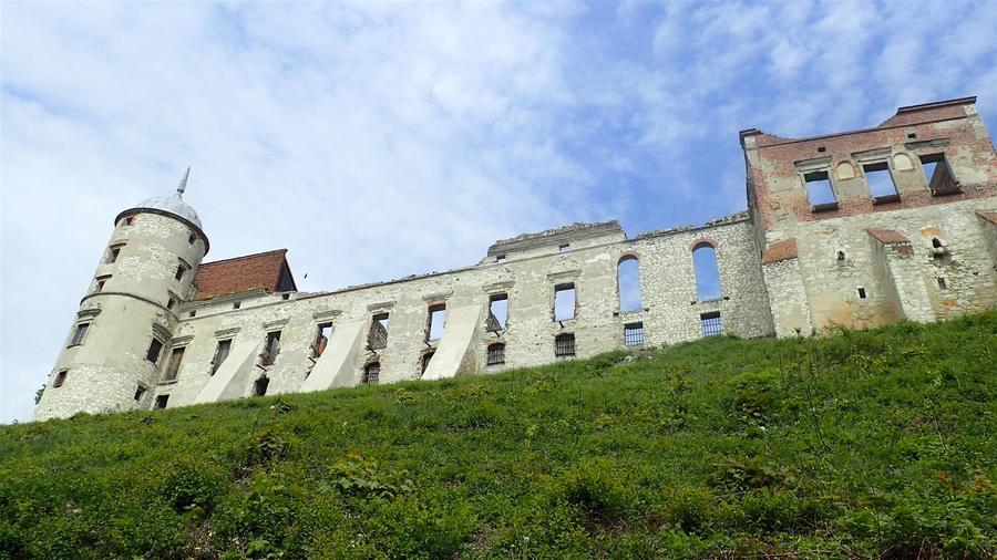<p>Zamek Firlejów w Janowcu</p>