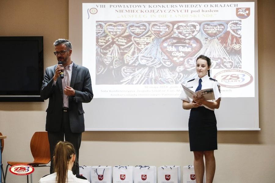 VIII Powiatowy Konkurs Wiedzy o Krajach Niemieckojęzycznych pod hasłem: