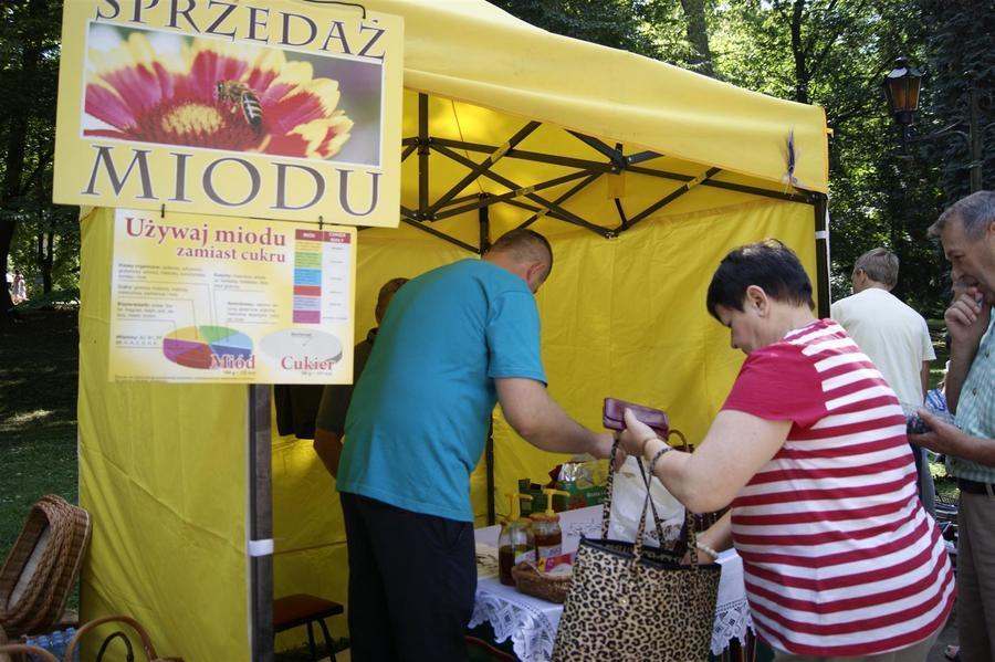 Wieńce i stoiska na Dożynkach Powiatowych Nałęczów 2018