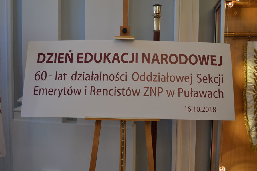 60 lat działalności Oddziałowej Sekcji Emerytów i Rencistów ZNP w Puławach