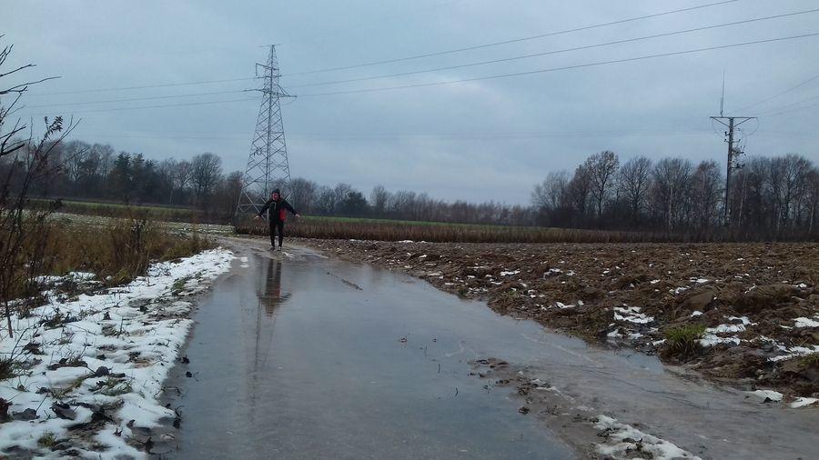Bieg w okolicach Puław