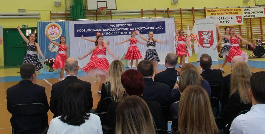 Gala wręczenia nagród w Wojewódzkim Współzawodnictwie Sportowym Szkół