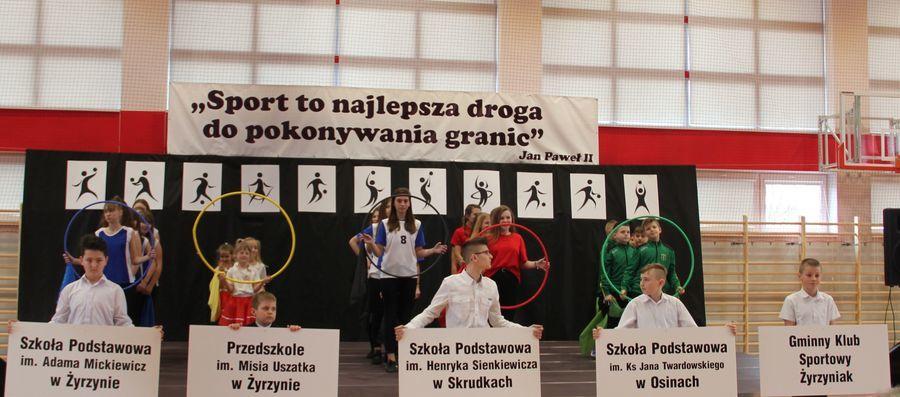 Otwarcie hali sportowej w Żyrzynie