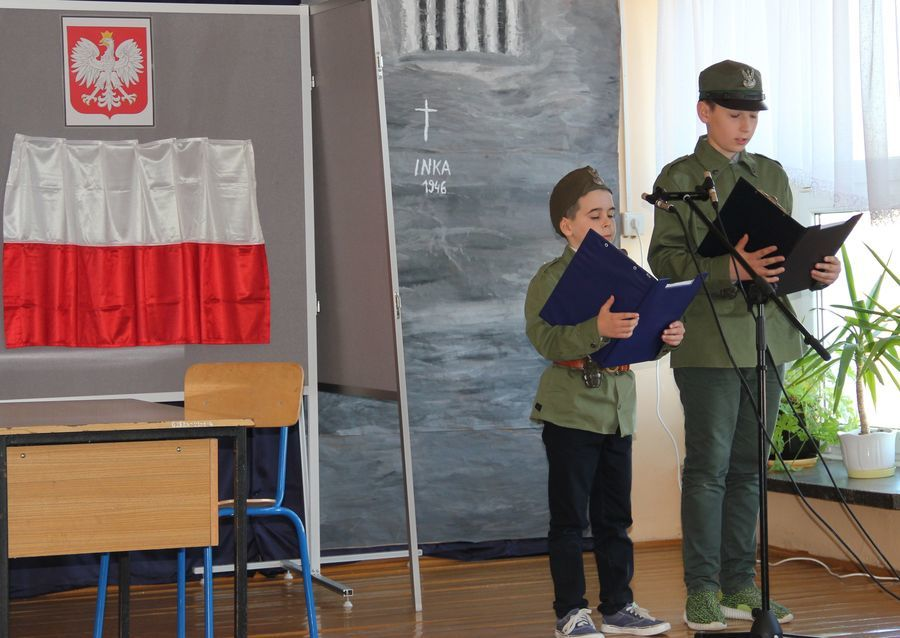 """Międzyszkolny Konkurs Wiedzy Historycznej """"Żołnierze Wyklęci – niezłomni bohaterowie"""""""