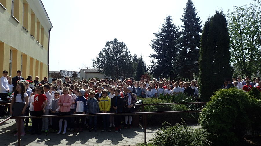 Uroczystości rocznicowe upamiętnienia Ofiar Zbrodni Katyńskiej w Gołębiu