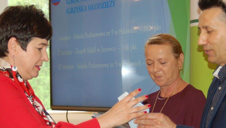 Sportowe nagrody Starosty Puławskiego za osiągnięcia w 2018 r.