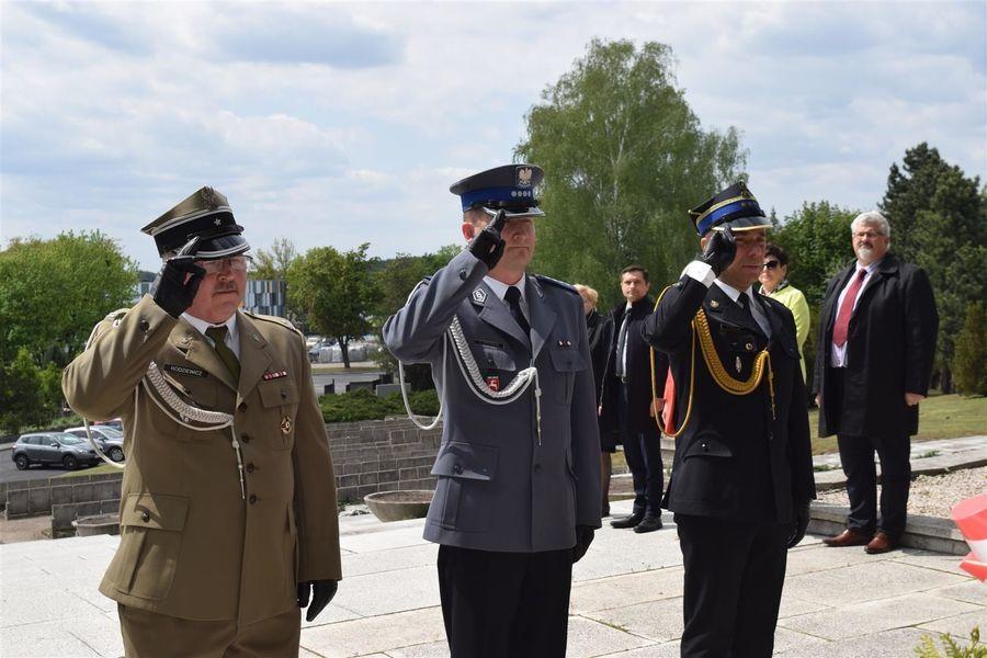 Upamiętnienie 74. rocznicy zakończenia II wojny światowej